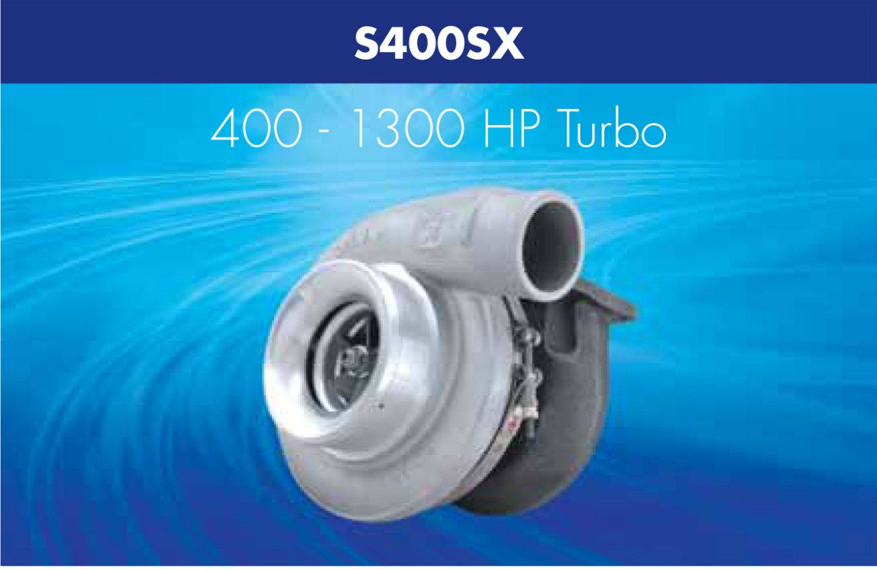 Turbosprężarka Borg Warner AirWerks S400SX - GRUBYGARAGE - Sklep Tuningowy
